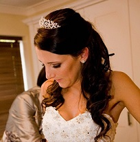 wedding hairdresser in surrey